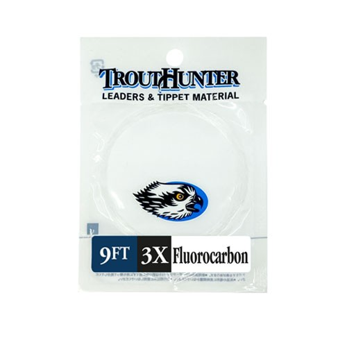 TroutHunter Fluorocarbon Leader 9FT
