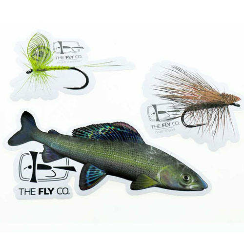 The FlyCo Sticker Pack Grayling