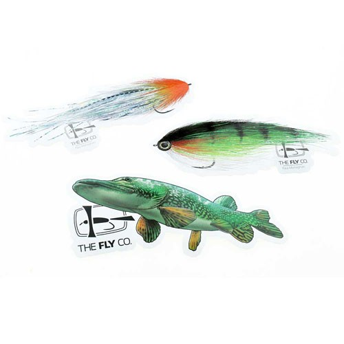 The FlyCo Sticker Pack Pike