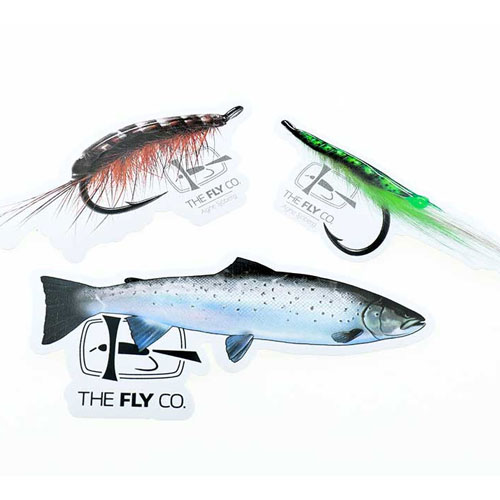The FlyCo Sticker Pack Seatrout